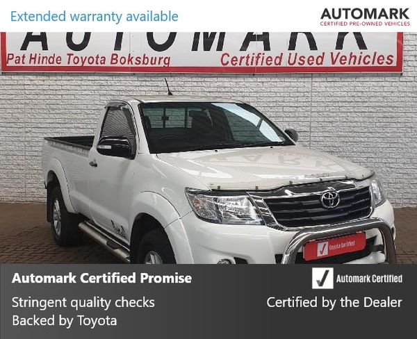 2015 Toyota Hilux 2.7 VVTi LEGEND 45 RB Single Cab Bakkie Gauteng Boksburg_0