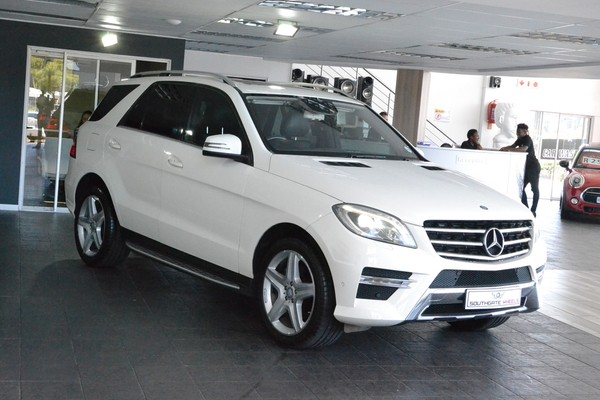 2013 Mercedes-Benz M-Class Ml 350 Bluetec  Gauteng Roodepoort_0