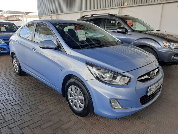 2012 Hyundai Accent 1.6 Gls  Free State Bloemfontein_0