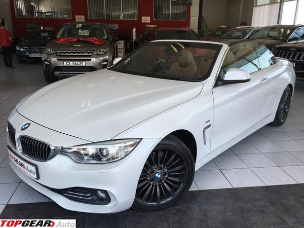 2014 BMW 4 Series 428i Convertible Luxury Line Auto Gauteng Bryanston_0