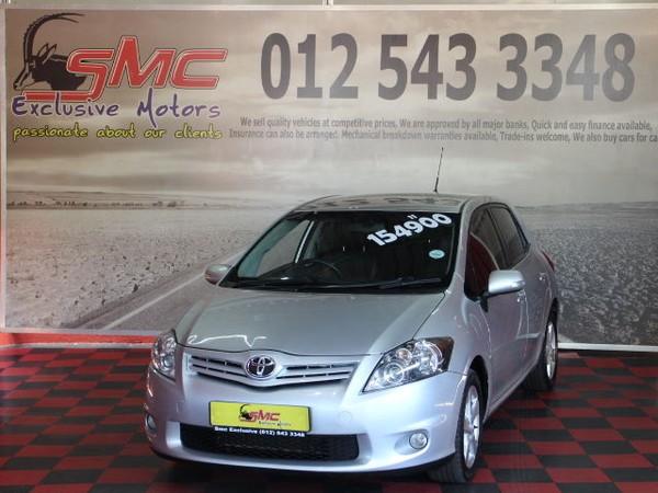 2011 Toyota Auris 1.6 Xs  Gauteng Pretoria_0