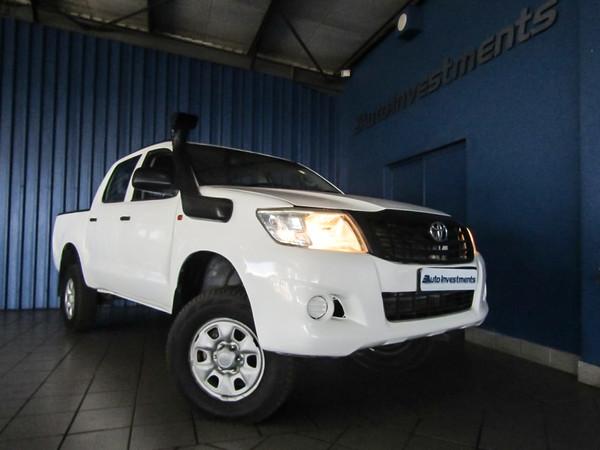 2012 Toyota Hilux 2.5d-4d Srx 4x4 Pu Dc  Mpumalanga Middelburg_0
