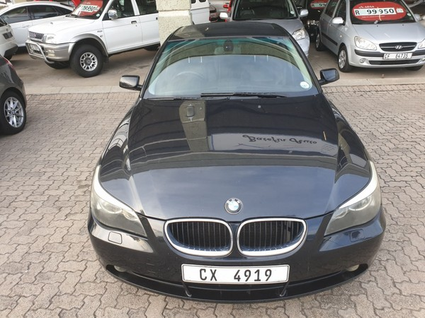 2004 BMW 5 Series 530i Exclusive At e60  Western Cape George_0