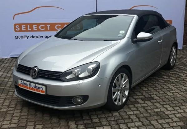2013 Volkswagen Golf Vi 1.4 Tsi Dsg Cabrio 118kw Hline  Mpumalanga Nelspruit_0