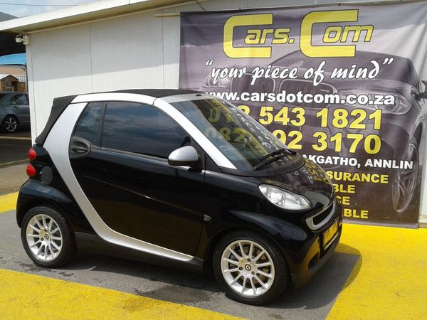 2008 Smart Cabrio Passion  Gauteng Pretoria_0