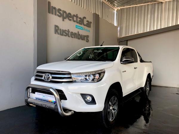 2018 Toyota Hilux 2.8 GD-6 RB Raider 4x4 Extra Cab Bakkie Auto North West Province Rustenburg_0