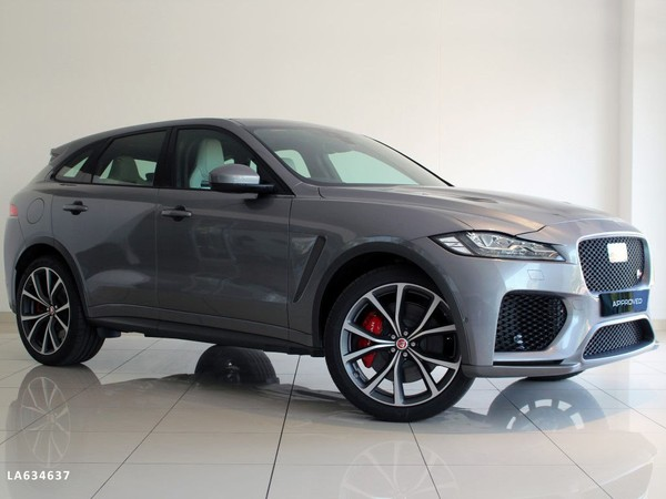 2020 Jaguar F-Pace 5.0 V8 SVR Western Cape Goodwood_0