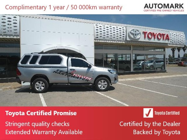 2020 Toyota Hilux 2.4 GD-6 RB SRX Single Cab Bakkie Northern Cape Hartswater_0