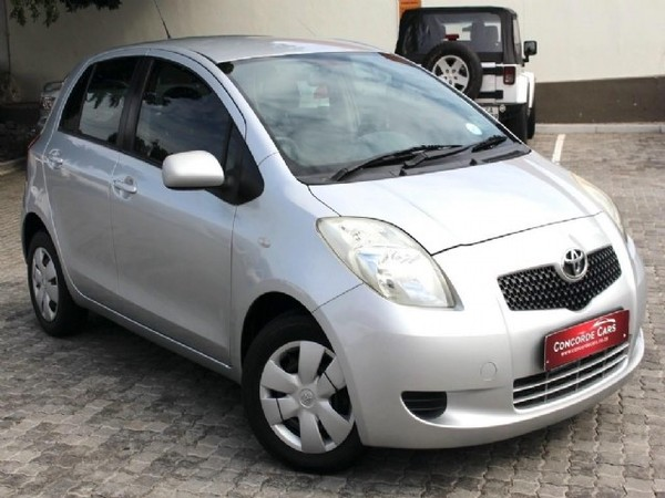 2008 Toyota Yaris T3 5dr  Western Cape Cape Town_0