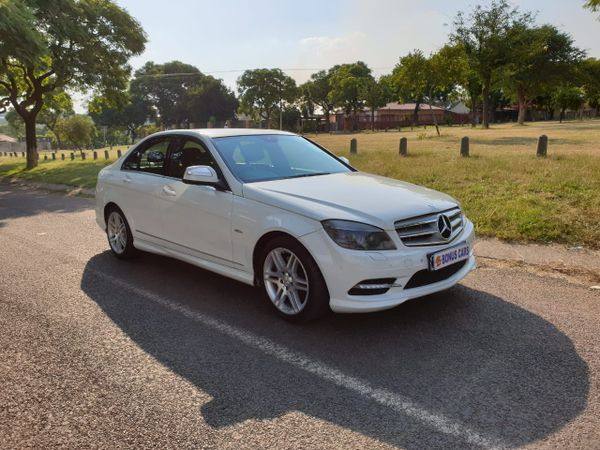 2009 Mercedes-Benz C-Class C280 Avantgarde At  Gauteng Pretoria West_0