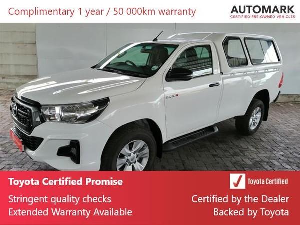 2019 Toyota Hilux 2.4 GD-6 SRX 4X4 Single Cab Bakkie Eastern Cape Uitenhage_0