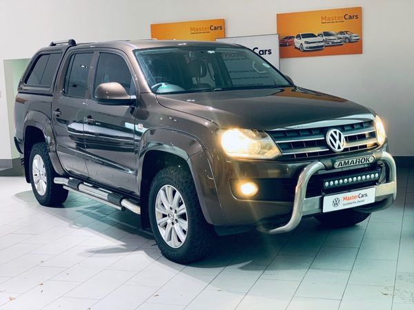2012 Volkswagen Amarok 2.0tdi Trendline 90kw 4mot Dc Pu  Gauteng Randburg_0