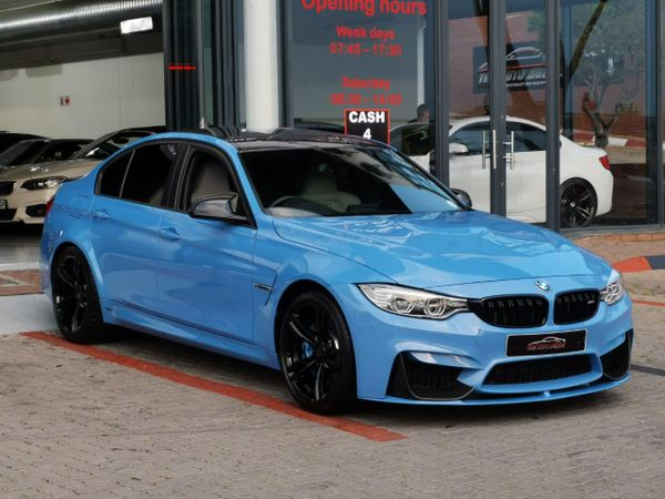 2015 BMW M3 M-DCT Gauteng Sandton_0