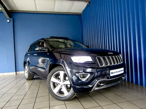 2014 Jeep Grand Cherokee 3.0L V6 CRD OLAND Mpumalanga Middelburg_0