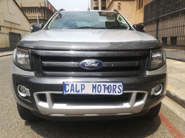 2015 Ford Ranger 3.2TDCi WILDTRAK Auto Double Cab Bakkie Gauteng Marshalltown_0