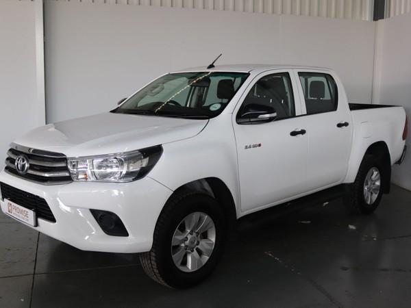 2018 Toyota Hilux 2.4 GD-6 RB SRX Double Cab Bakkie Gauteng Springs_0