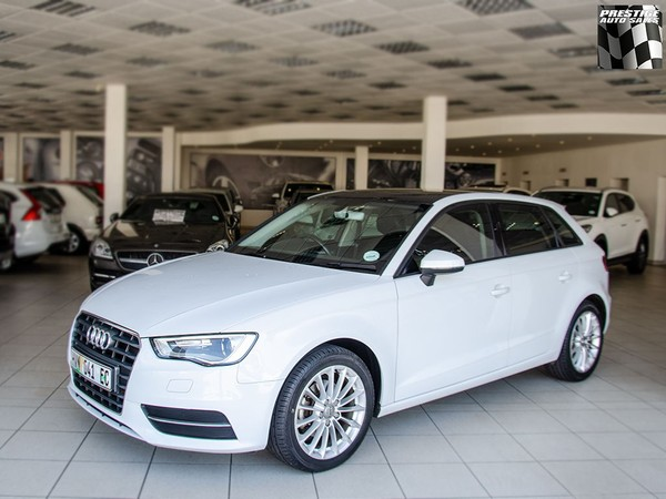 2016 Audi A3 1.4T Fsi 5 Dr Hatch SPORTBACK AT  Eastern Cape Port Elizabeth_0