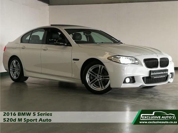 2016 BMW 5 Series 520D Auto M Sport Gauteng Pretoria_0