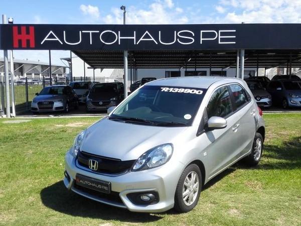 2018 Honda Brio 1.2 Comfort  Eastern Cape Port Elizabeth_0