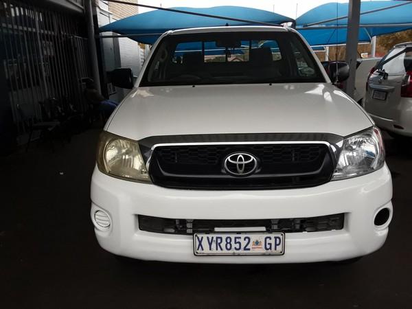 2008 Toyota Hilux 2.5 D-4d S Pu Sc  Gauteng Johannesburg_0