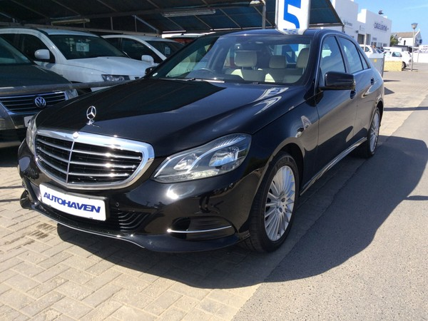 2013 Mercedes-Benz E-Class E 200 Western Cape Hermanus_0