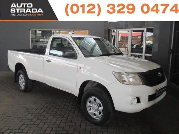 2013 Toyota Hilux 2.5 D-4d Srx Rb Pu Sc  Gauteng Pretoria_0