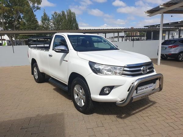 2016 Toyota Hilux 2.8 GD-6 Raider 4x4 Single Cab Bakkie Free State Bloemfontein_0