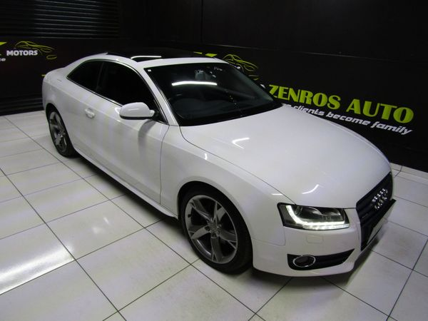 2012 Audi A5 2.0t Fsi Q Stronic -R3800PM Gauteng Boksburg_0