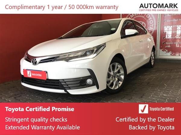 2017 Toyota Corolla 1.8 Exclusive CVT Gauteng Roodepoort_0
