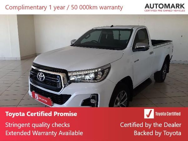 2019 Toyota Hilux 2.8 GD-6 Raider 4X4 Single Cab Bakkie Mpumalanga Ermelo_0