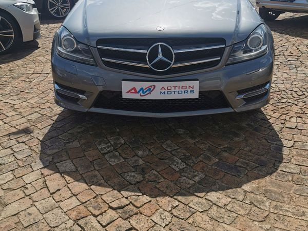 2015 Mercedes-Benz C-Class C180 Be Coupe At  Gauteng Lenasia_0