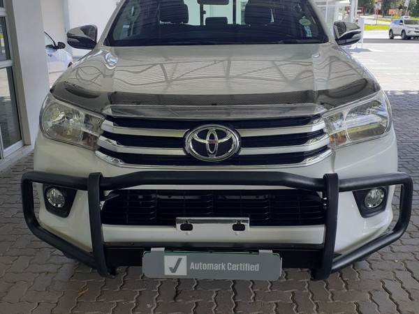 2016 Toyota Hilux 2.8 GD-6 RB Raider Double Cab Bakkie Free State Ladybrand_0