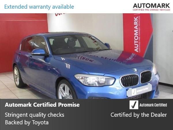 2016 BMW 1 Series 120d M Sport 5-Door Auto Gauteng Springs_0