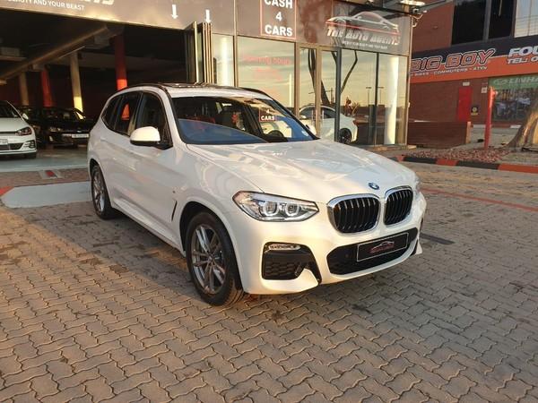 2019 BMW X3 xDRIVE20d M Sport Auto Gauteng Sandton_0