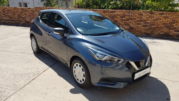 2018 Nissan Micra 900T Visia Western Cape Paarl_0