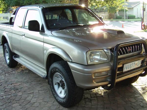 2004 Mitsubishi Clubcab 2800 Tdi 4x4 Pu Sc  Gauteng Boksburg_0
