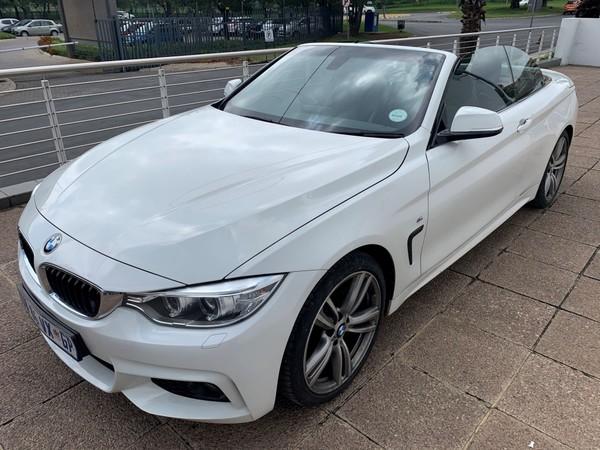 2015 BMW 4 Series 420i Convertible M Sport Auto Gauteng Germiston_0
