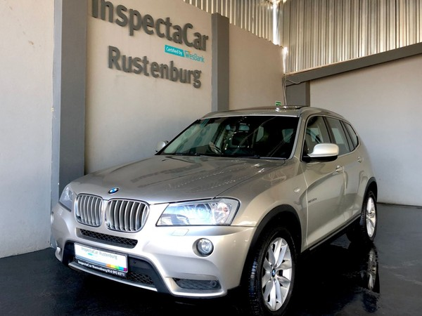 2012 BMW X3 Xdrive 3.0d Exclusive At  North West Province Rustenburg_0