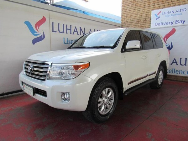 2013 Toyota Land Cruiser 200 V8 4.5d Vx At  Gauteng Pretoria_0
