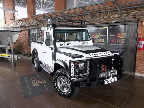 2012 Land Rover Defender Puma 110 Ht Pu Sc  Gauteng Boksburg_0