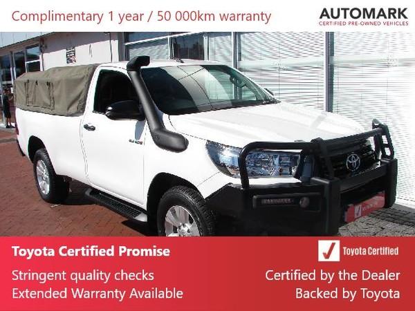 2019 Toyota Hilux 2.4 GD-6 SRX 4X4 Single Cab Bakkie Western Cape Tokai_0