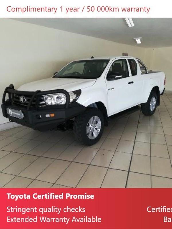 2017 Toyota Hilux 2.4 GD-6 RB SRX Extended Cab Bakkie Mpumalanga Ermelo_0