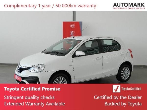 2019 Toyota Etios 1.5 Xs 5dr  Western Cape Rondebosch_0