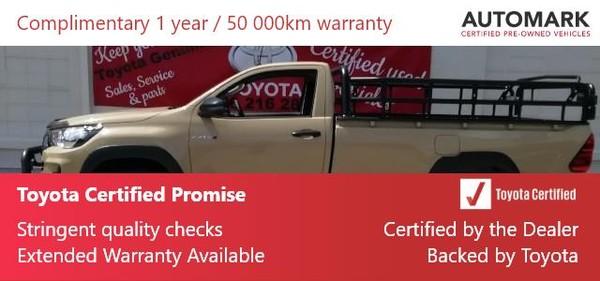2020 Toyota Hilux 2.4 GD-6 RB SRX Single Cab Bakkie Free State Kroonstad_0