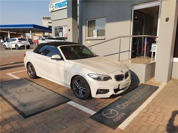 2018 BMW 2 Series 220i Convertible M Sport Auto F23 Gauteng Four Ways_0