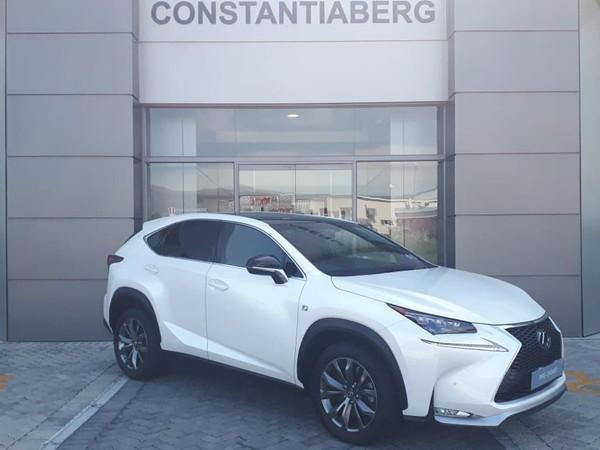 2018 Lexus NX 2.0 T F-Sport Western Cape Tokai_0