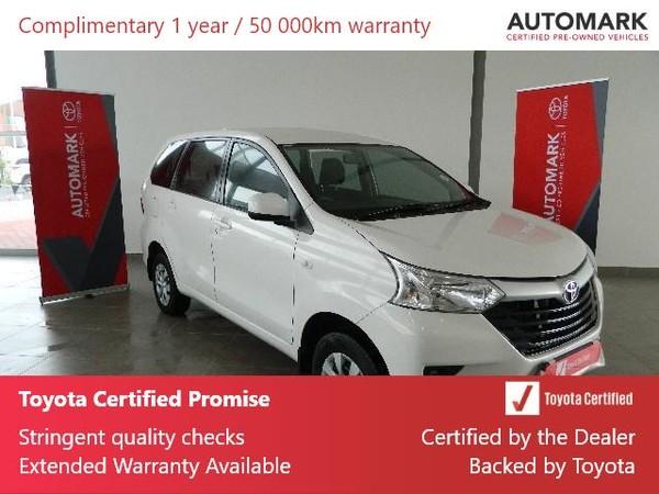 2019 Toyota Avanza 1.5 SX Western Cape Rondebosch_0