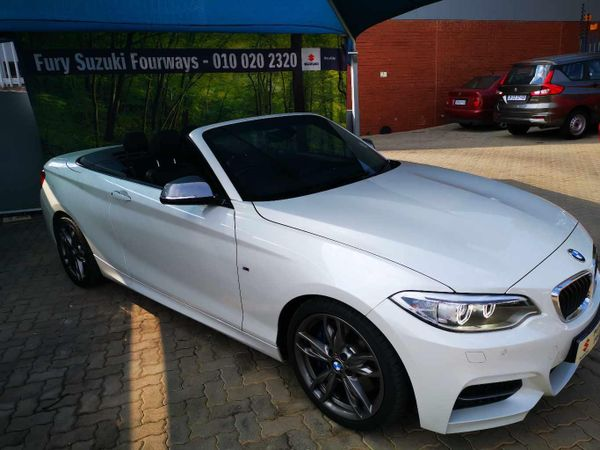 2017 BMW 2 Series M240 Convertible Auto Gauteng Four Ways_0