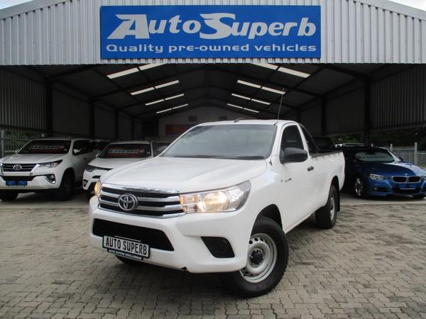 2017 Toyota Hilux 2.4 GD-6 SR 4X4 Single Cab Bakkie Western Cape Swellendam_0