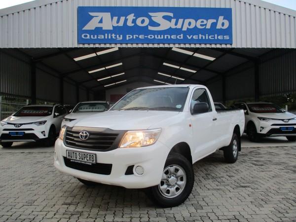 2015 Toyota Hilux 2.5 D-4d Srx 4x4 Pu Sc  Western Cape Swellendam_0
